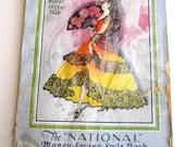 Vintage 1925 Fashion 443 Page Catalog Beautiful Flapper Fashions Color Advertisements Lingerie, Clothing, Housewares