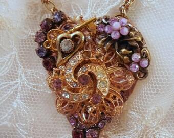 On Sale Purple Passion Valentine Pendant