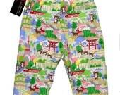 Harajuku Clothing - Japanese Clothing - Baby Bear  - Asian Clothing - Baby Boy Pants - Baby Girl Pants - Baby Pants - Size 3m on SALE