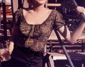 1955 Marilyn Lacy Blouse / Top from the Movie: Bus Stop
