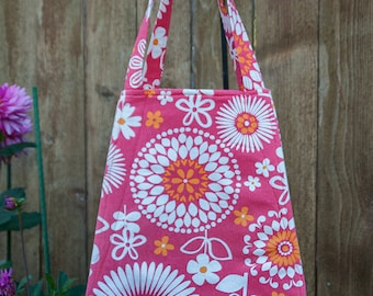 Tote, Large Tote, Shopping Tote, Handmade Large Tote, Handmade Home Decor Fabric Tote, Handmade Beach Tote, Grocery Tote