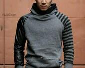 Men's Hoodie / Sweatshirt hoodie / Hooded sweatshirt  - KMT 059