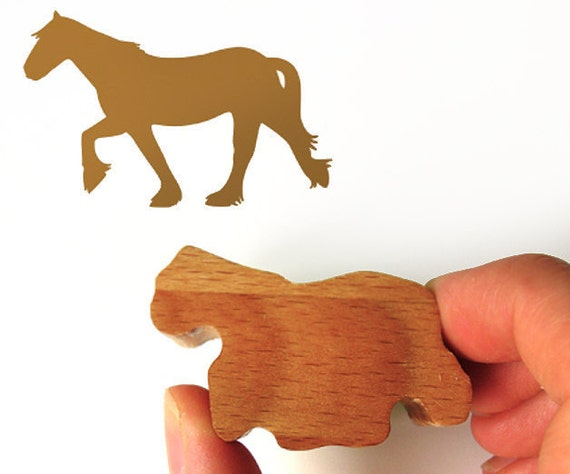 Horse Stamp, Pony Rubber Stamp for Horse Lovers