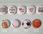 Very Merry Flair Badges : Sports Team Set