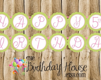 Frog Prince Friends Party - Custom Princess and Frog Party Banner by The Birthday House