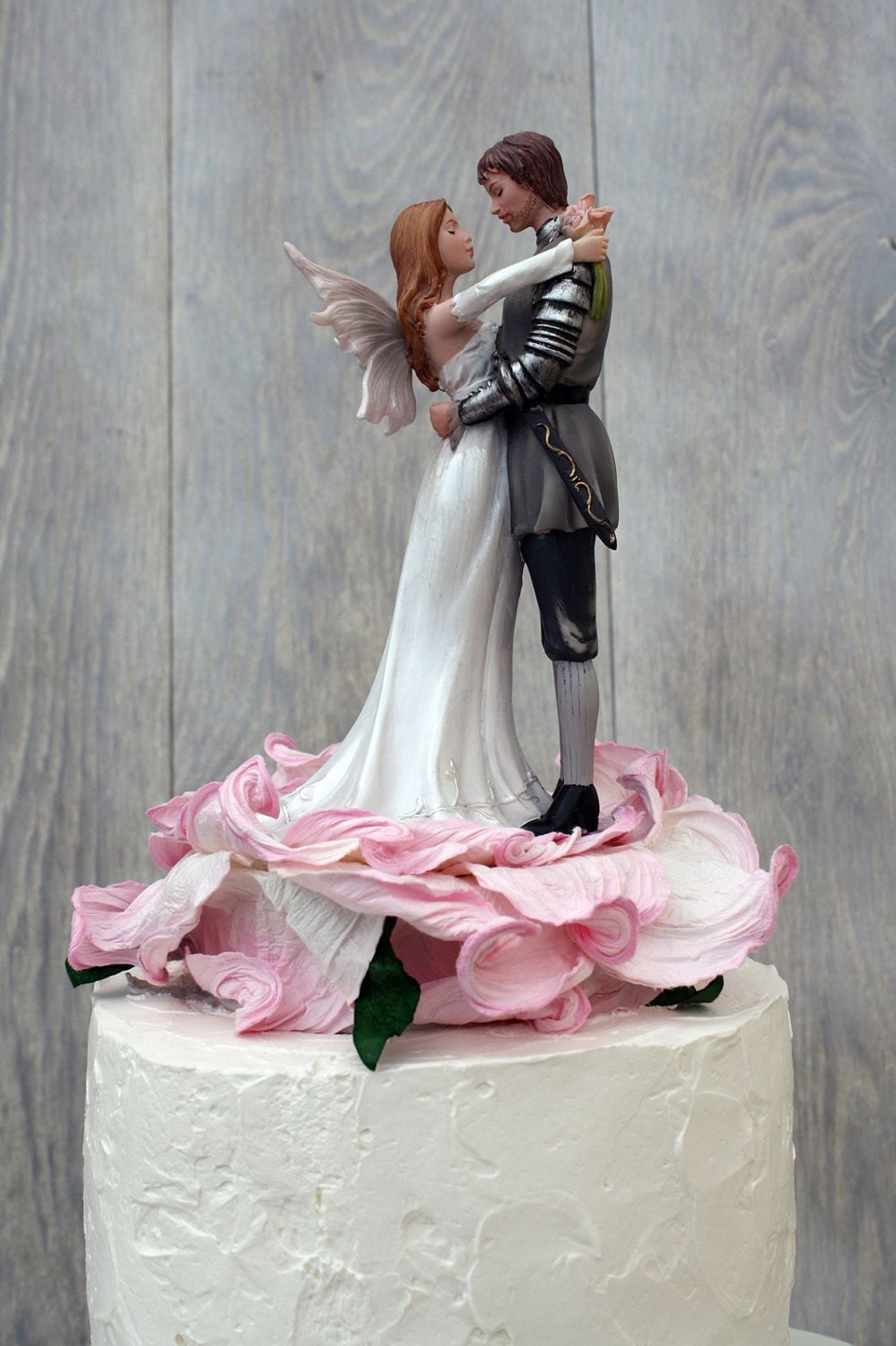 fantasy fairy wedding cake topper paper blossom wedding cake topper custom 14197