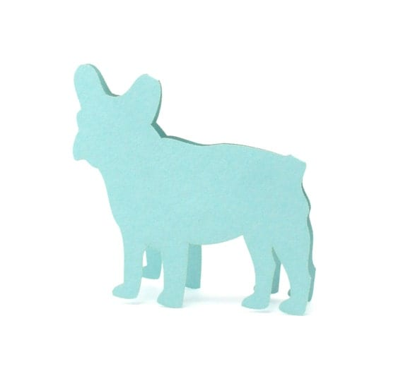 French Bulldog Place Cards set of 10 - Escort Cards,Wedding Place Cards,Seating Card,Dog Bone,Fire Hydrant,Pets Wedding,Bridal Shower,Party