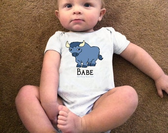 Babe (the blue Ox) Paul Bunyan baby bodysuit or toddler t shirt Little Literary Classics made to order size 3M to 5/6T