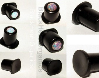 Custom Wood Labret, Conch, Top Hat Examples / Organic Wooden Plugs (2g / 6mm and larger), Hand Crafted, Custom Plugs