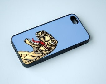 Custom Phone Case Phone Cover iPhone 6 Case Dinosaur Phone Case Silicone iPhone Case iPhone 6 Case iPhone 6 Plus 6+ Case T-Rex Gift for Him