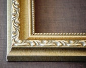 14x 18 to 16 x 20 Vintage Ornate  Gold, Silver, Brown Picture Frames, Custom, Readymade, Wall Decor, Home Decor, Art, Photography