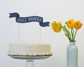 Cake Banner - Common Phrases - Wedding Cake Topper