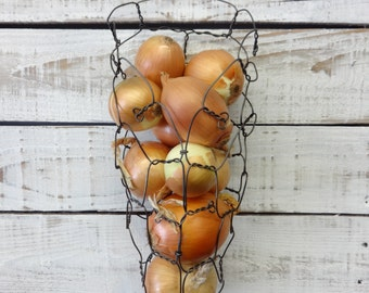 Large Wire Onion Wall Basket