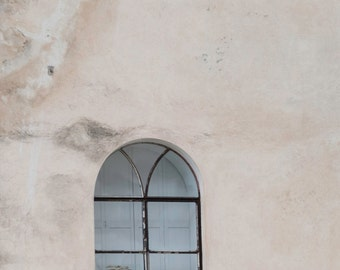 Only a Window Fine Art Photography Positano Italian architecture rustic simple stucco wall minimal wall art clean Mediterranean home photo