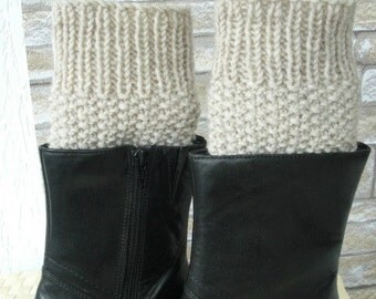 Instant Download Knitting Pattern  Boot Cuffs  pattern- Digital  Boot Toppers  PATTERN PDF - Boot Cuffs  Pattern -Boot Topper  Knit Pattern
