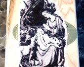 Holy Family & Lamb Nativity - Jesus, Mary, Joseph - New WM Rubber Stamp - Christmas Cards - Scrapbooks - Sunday School - FREE Shipping
