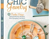 Learn to make broken china jewelry; Brand new signed copy of my book! BoHo Chic Jewelry: 25 Timeless Designs, Soldering, Beading...