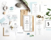 Destination Wedding Invitation, Travel Wedding Invitation, Vintage Map Wedding Invitation, Map Wedding Invitation, Beach Wedding Invitation