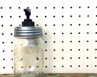 Ball Mason Jar Lotion / Soap Dispenser(s)