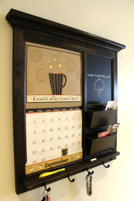 Wall Calendar Frame family planner wall calendar frame maple furniture front