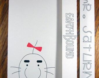 EarthBound Mr. Saturn - Mini Motif Notebook