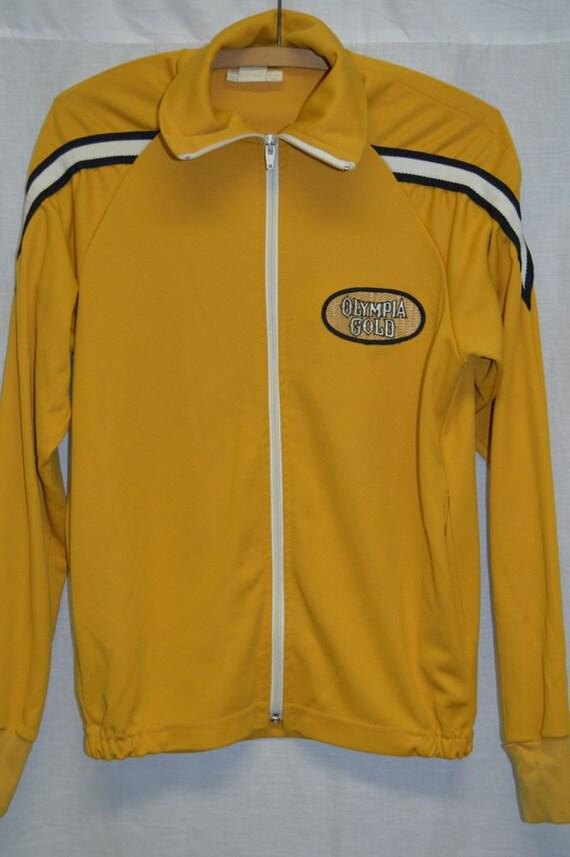 vintage oly olympia beer 1970 39 s sport jogging jacket. Black Bedroom Furniture Sets. Home Design Ideas