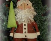 Primitive Folkart Santa