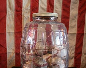 Vinatge Baseball Jar
