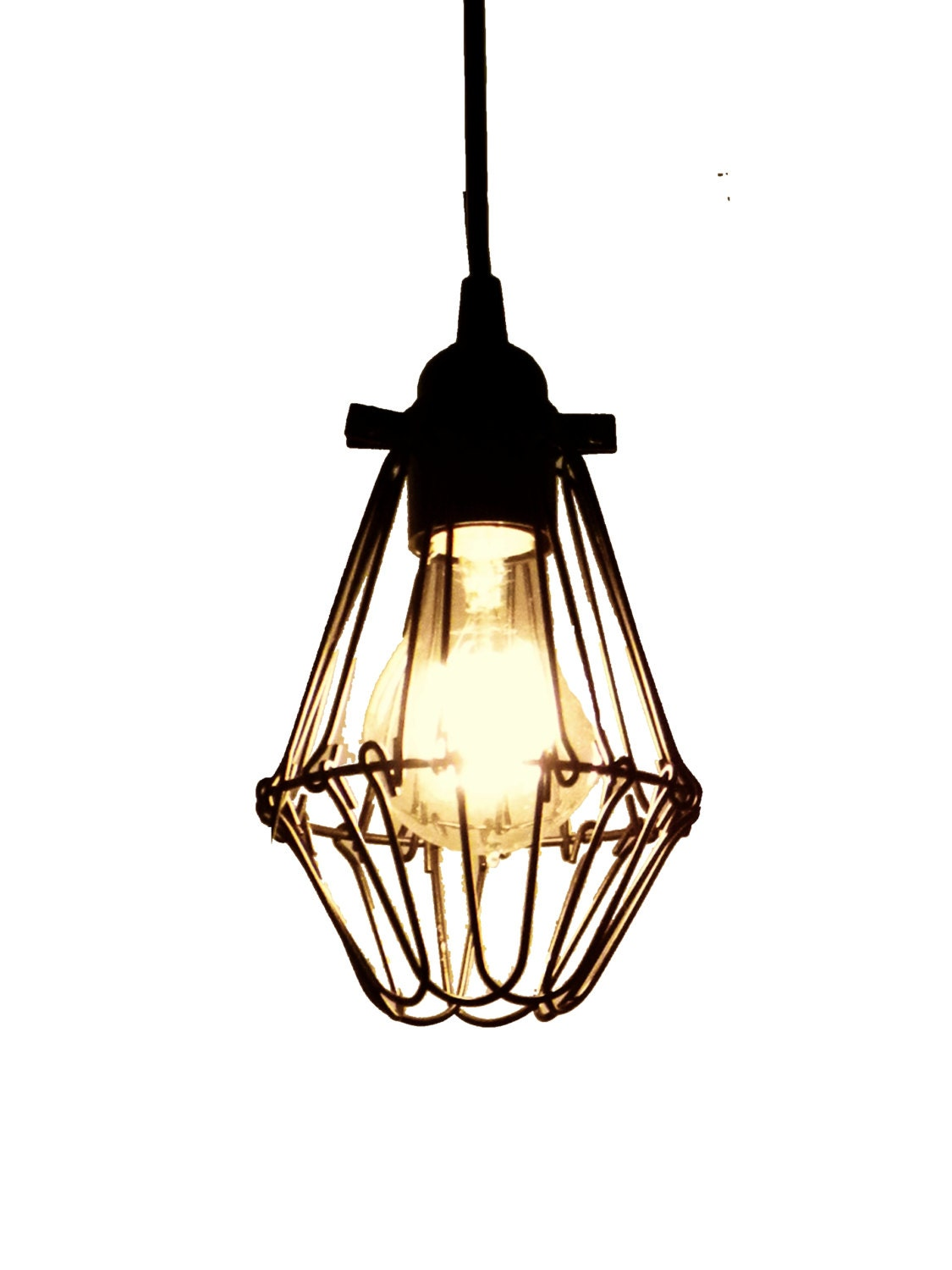 cage only add on 4 choices lamp guard bulb by hangoutlighting. Black Bedroom Furniture Sets. Home Design Ideas