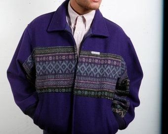 NATIVE AMERICAN wool MO Betta Jacket