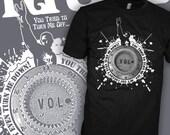 KYUSS Band Shirt - Marshall Volume Knob Shirt - John Garcia Quote - Desert Stoner Rock T-Shirt - FREE SHIPPING