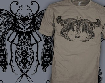 TOOL Band Shirt - Death Moth - Hard Psychedelic Progressive Rock T-Shirt