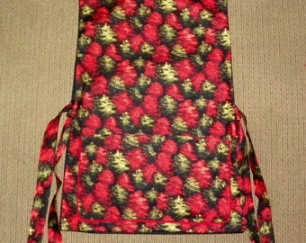 Kitchen Cobbler Lined Apron Smock Fall Color of Trees