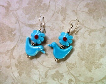 Bluebird of Happiness Earrings (1961)