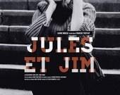 Jules et Jim alternative movie poster