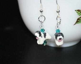 Earrings - Polish Lowland Sheepdogs