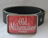 Old Milwaukee Beer Can Belt Buckle