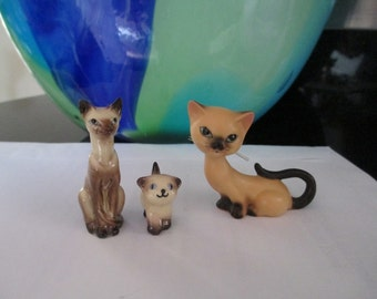 Siamese Cats  Instant Collection Total of THREE by Gatormom13 JUST REDUCED