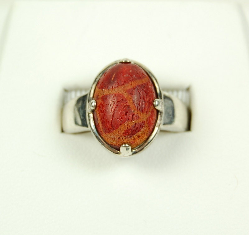 scarab ring sterling silver vintage scarab by