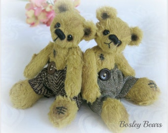 Instant Download - Bear Pattern Kingston by Bosley Bears
