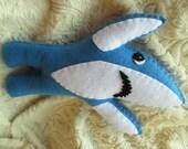 LEFT Shark Plush