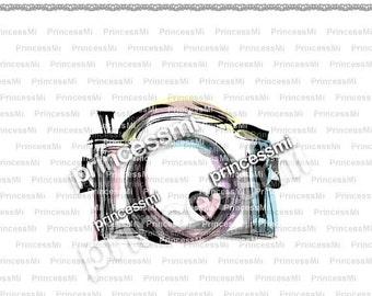 SALE #15 CAMERA clipart 1 PNG file - Digital Camera Clip Art cute camera photography clipart  for  photographer by princessmi