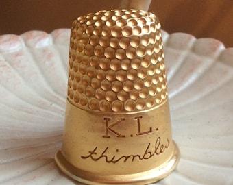 Fabulous Karl Lagerfeld Thimbles Brooch