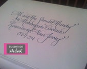 Clean Line Calligraphy for your Wedding and Beyond