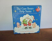 The Care Bears Help Santa Vintage Christmas Book