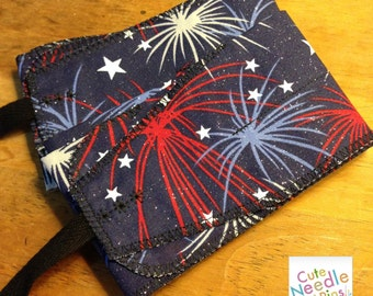 Free Shipping to the US** CrossFit Wrist Wraps - Patriotic Fireworks Red White and Blue America