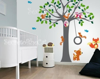 Wall Decals Nursery Etsy - Nursery wall decals