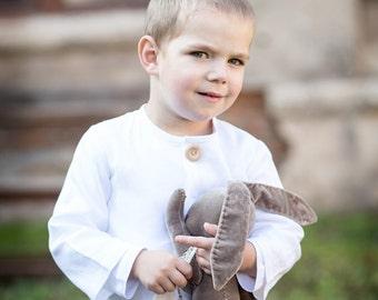 Boys linen shirt, white linen shirt, Boy baptism outfit, Baby boy shirt, Ring bearer shirt, Boy linen top Boys photo prob, Boy linen clothes