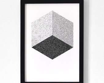 Cube / Poster 30x40 cm