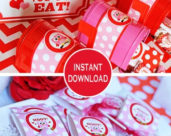 Valentine Party Printables | Valentines Party Decorations | Valentines Kids Party | Valentines Class Party | Amandas Parties To Go | 60% OFF